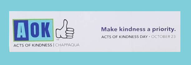 AOK Acts of Kindness in Chappaqua NY