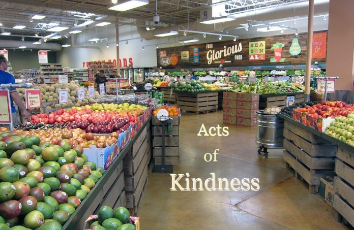Grocery Store Acts of Kindness